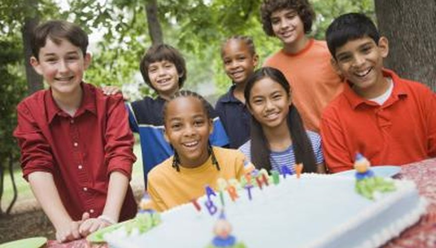 Celebrate your 11-year-old's birthday at a local park.