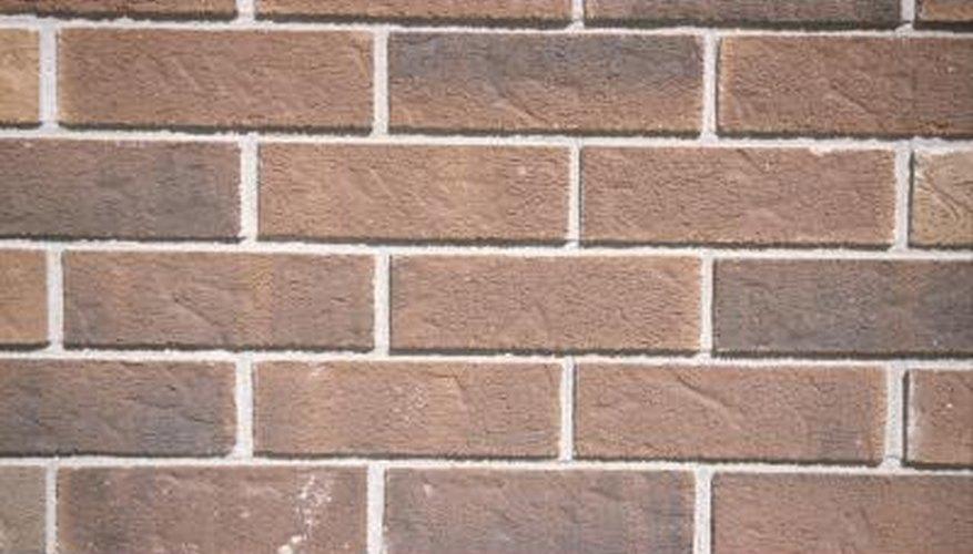 Lighten outdoor brick with paint.