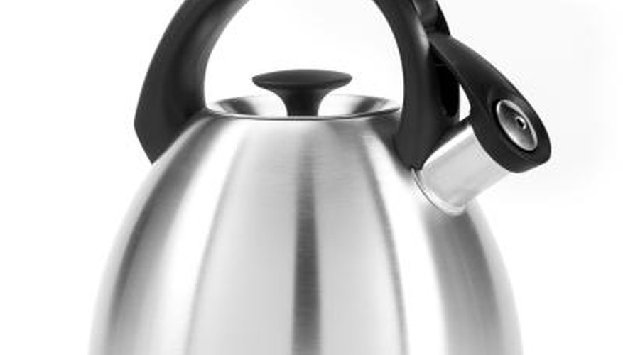 Kettles are common appliances found in most homes.