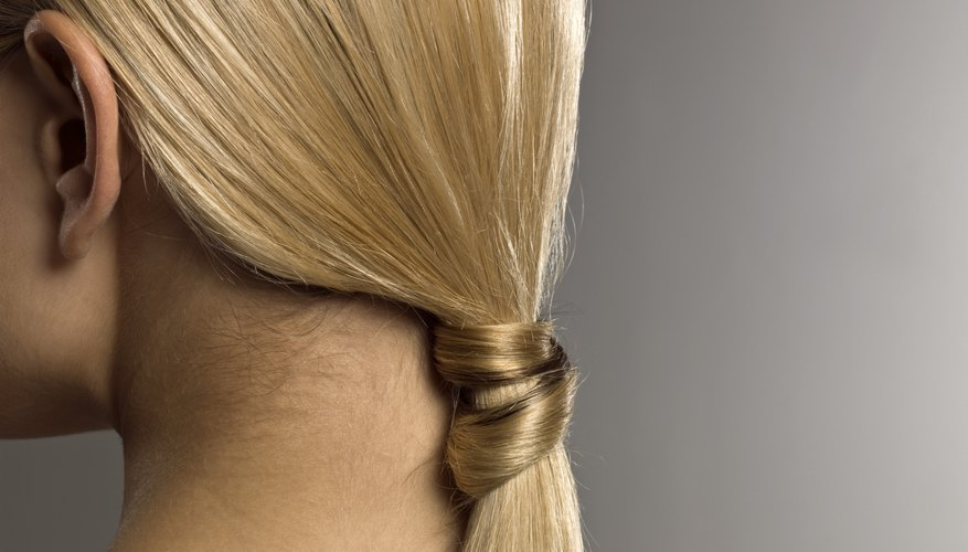Color glaze can help cool brassy tones while imparting shine.