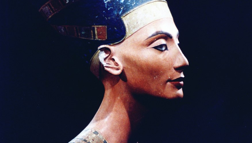 Queen Nefertiti was one of the most beautiful and powerful women in ancient Egypt.