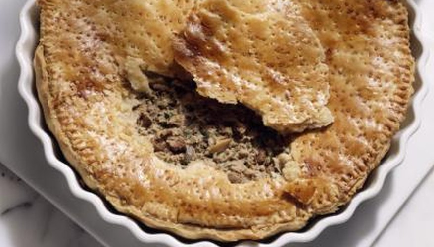 Savoury pies have been a popular main dish for hundreds of years.