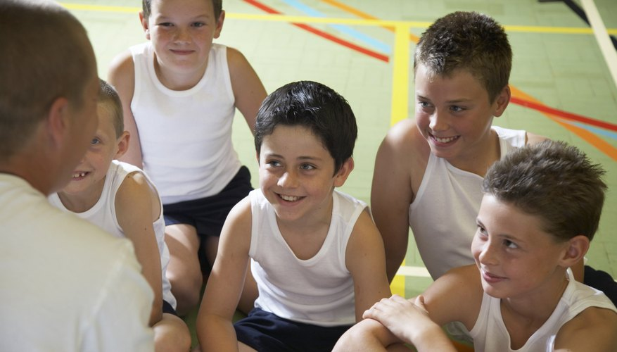 Combine math with physical education for integrated lessons.