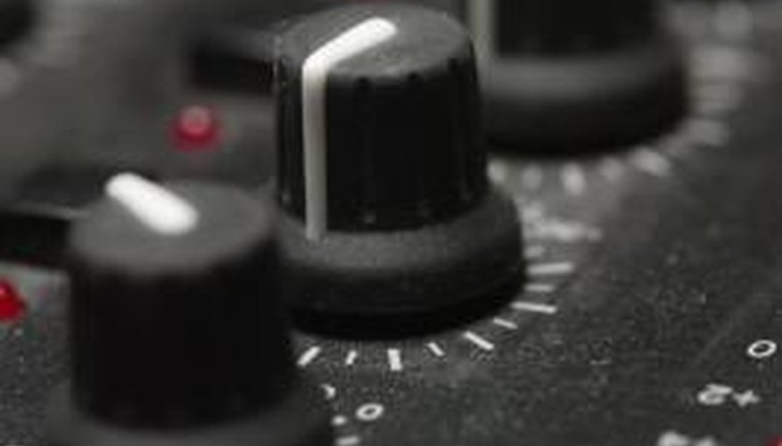 Repair your Behringer audio mixer by cleaning its electrical components and connectors.
