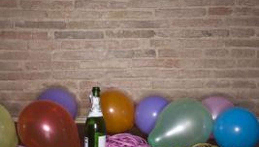 Balloons inside balloons create a magical effect.