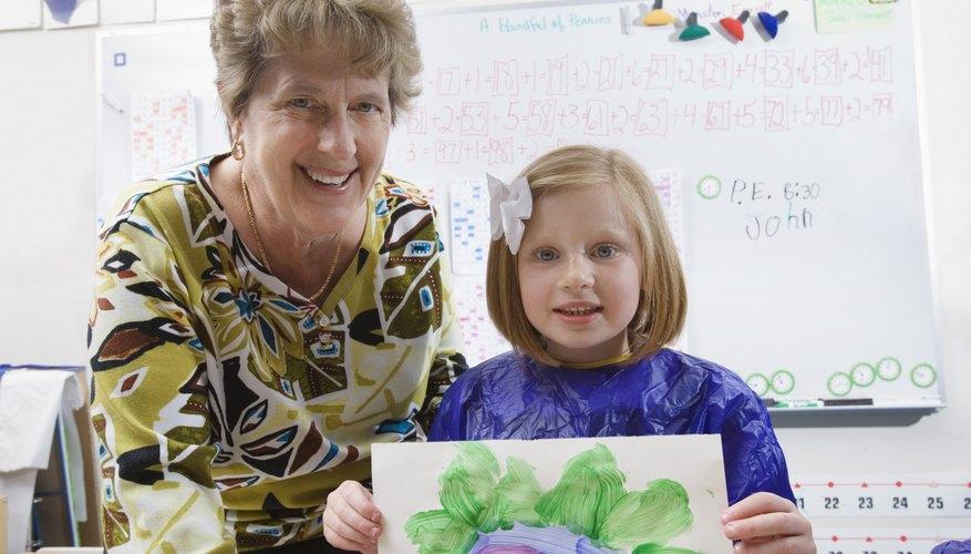 Kindergarten students acquire important building blocks for elementary school.