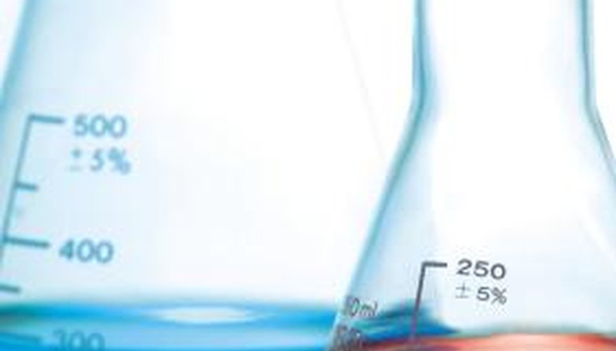 Acids and bases get normality measurements for dilutions.