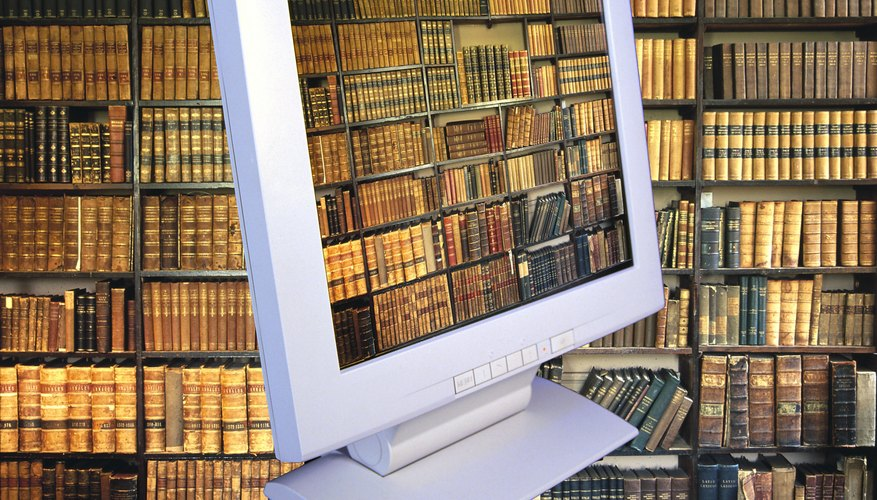 Today's libraries usually include Internet and computer access.