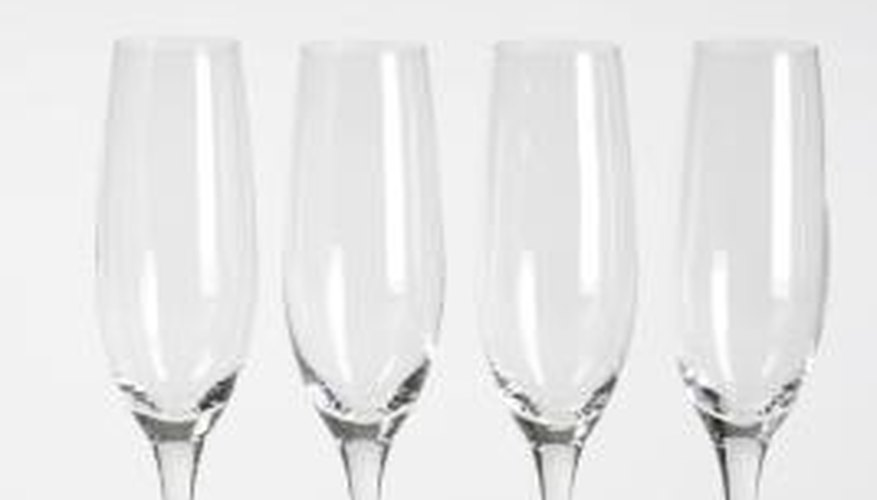 You can repair champagne glass stems.