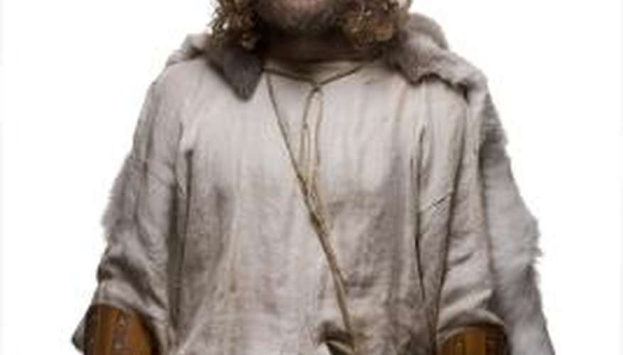 Fake beards can be dyed to suit multiple theatrical characters.