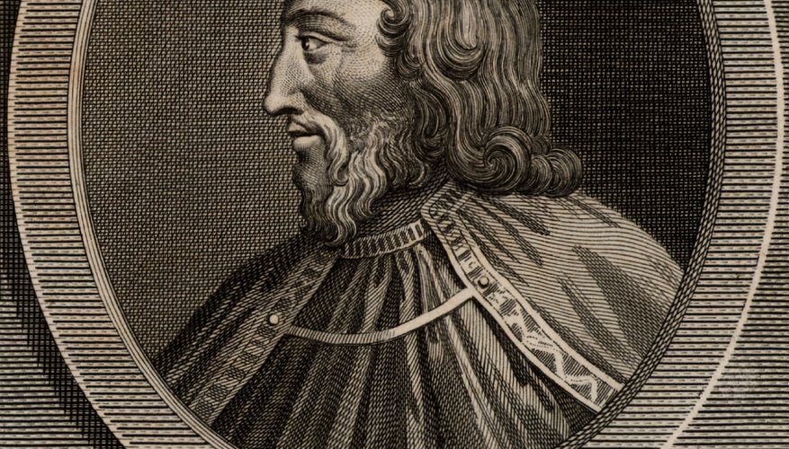 Clovis wore his hair long as a symbol of his authority.