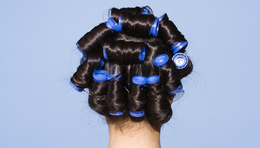 Hot rollers create curls of all sizes, depending on the set you choose.