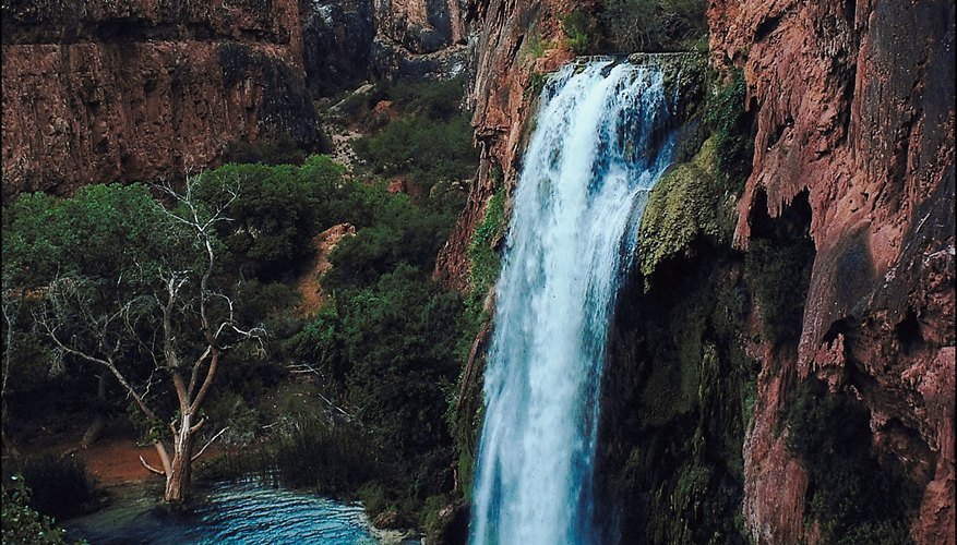 The Grand Canyon National Park's Havasu Canyon was home to the Havasupai.