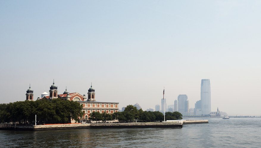 Ellis Island became the main immigrant port in 1892.