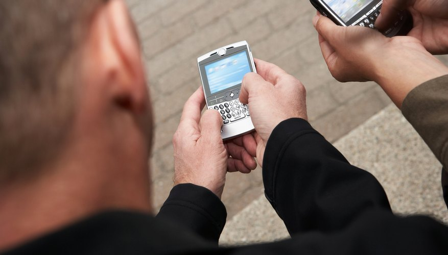 Use a wireless connection to run Facebook and Twitter on your BlackBerry.