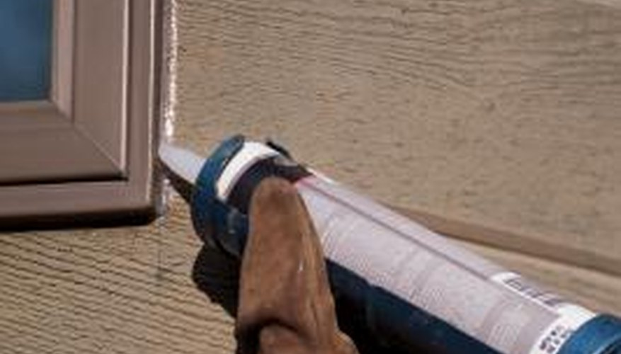 Caulking goes on easier than it comes off, but the right techniques makes removal moderately easy