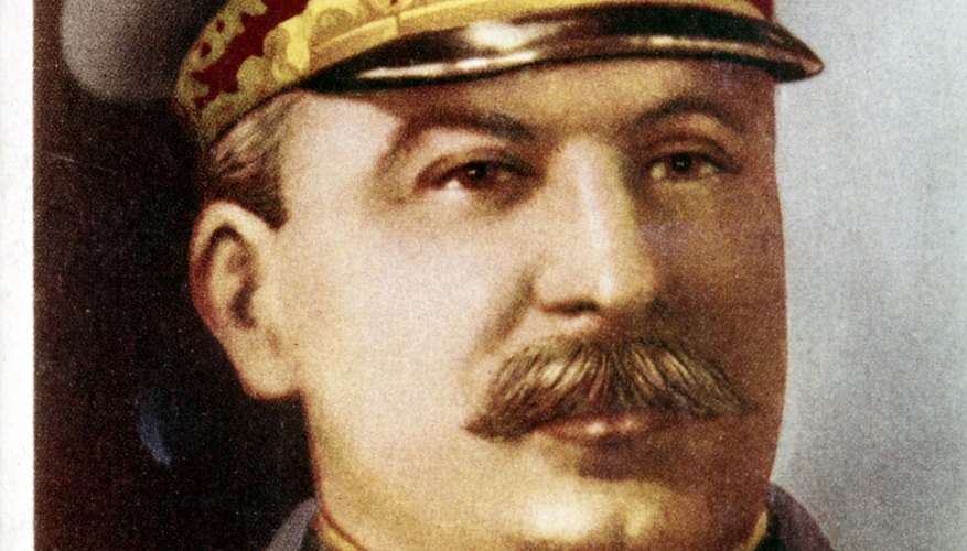 Stalin was a ruthless communist dictator.