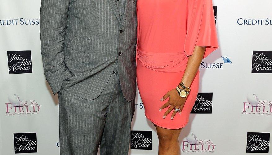 Wade and Chareta Smith look sharp and classy in semi-formal attire.