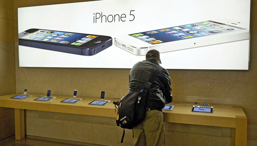 The iPhone 5 is the latest mobile phone from Apple.