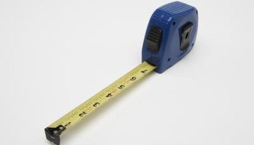 Take careful measurements.