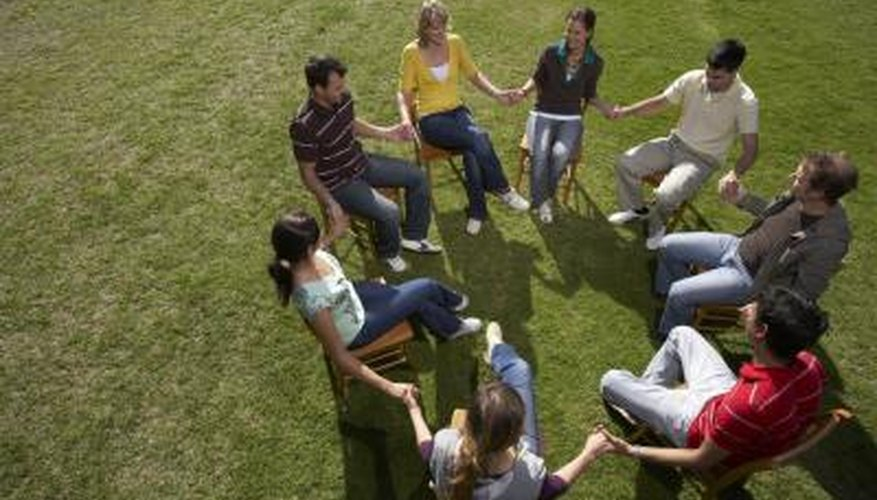 Ice breakers help group members get comfortable with each other.