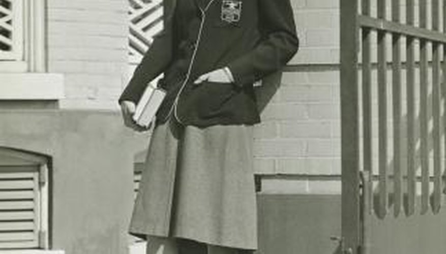 Many U.S. private schools in the 1940s mandated a strict uniform policy.