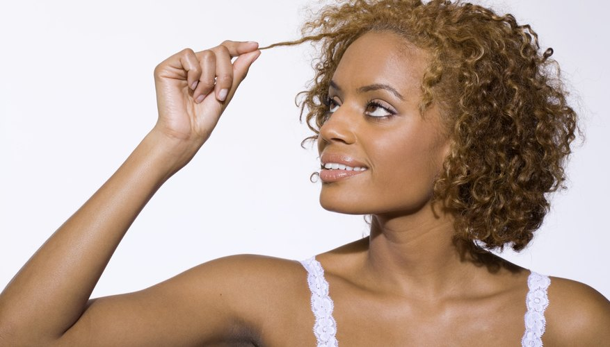 Loosening your curl pattern offers styling options.