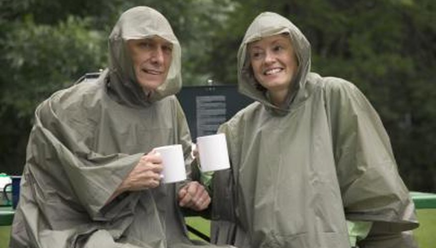 Rain doesn't have to ruin your camping trip by saturating all your belongings.