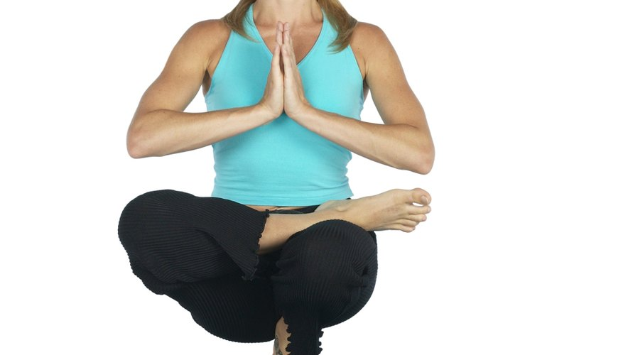 Yoga is a means to stop obsessing about an ex-boyfriend.