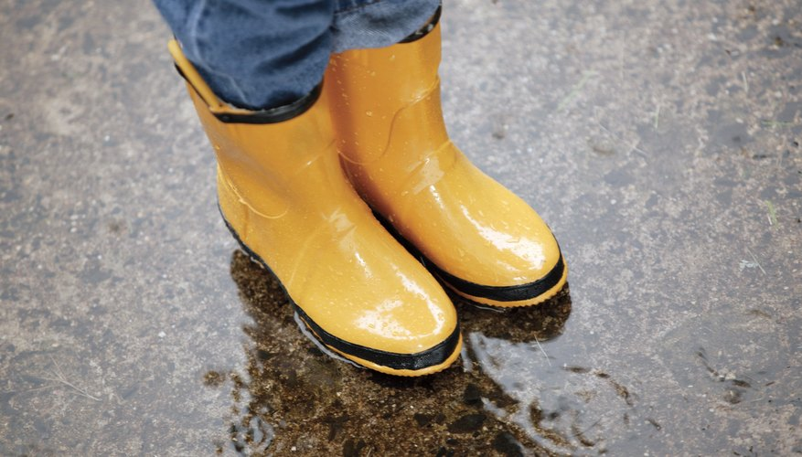 Wellies are more than cute accessories.