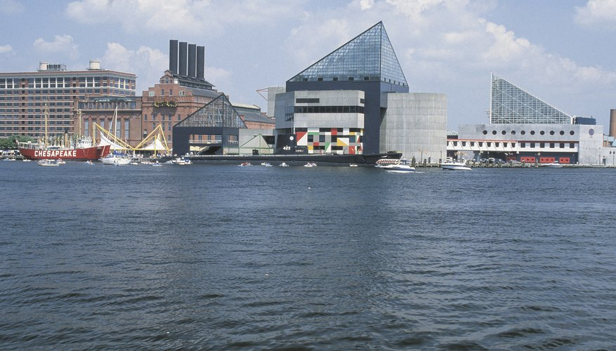 Baltimore's Harborplace offers entertainment options for all ages.