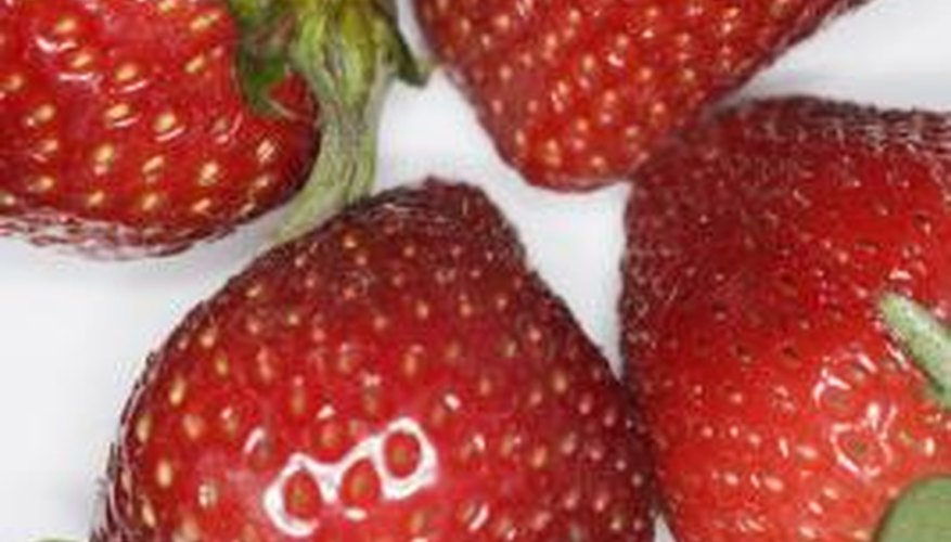 A fungus can cause an unripe strawberries to become mushy.