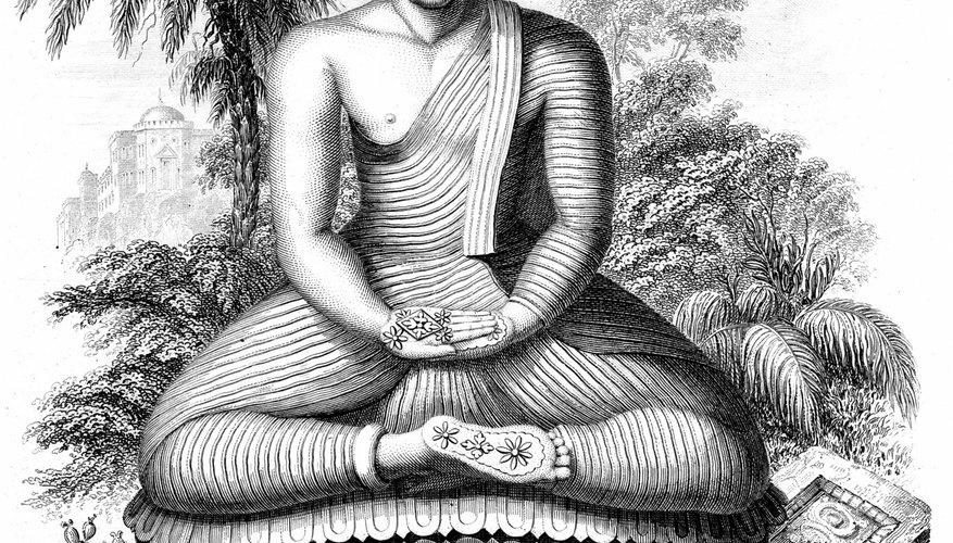 Like Taoists, Buddhists use meditation to unite the mind and the body.