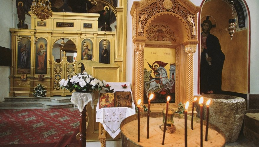 Greek Orthodox believe the church plays an important role in salvation.