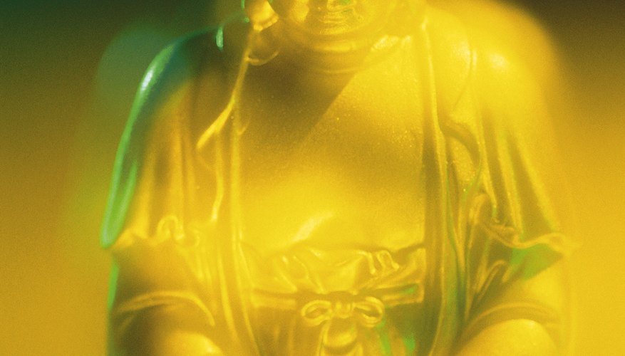 The Buddha overcame sorrow and suffering through meditation.