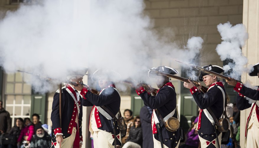 A historic 21 gun salute on President's Day.