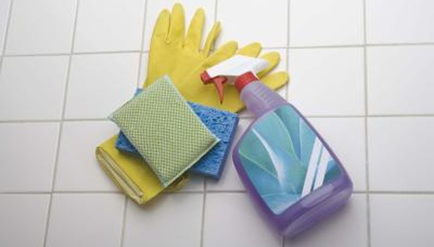 Some household cleaning agents contain hydrochloric acid.