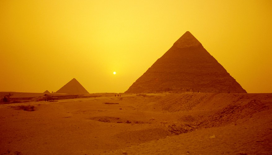 The Great Pyramid is the most famous example of a pharaonic tomb left on earth.
