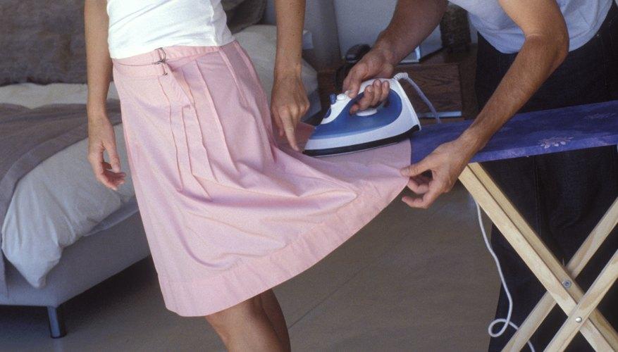 A few simple precautions prevent iron shine.