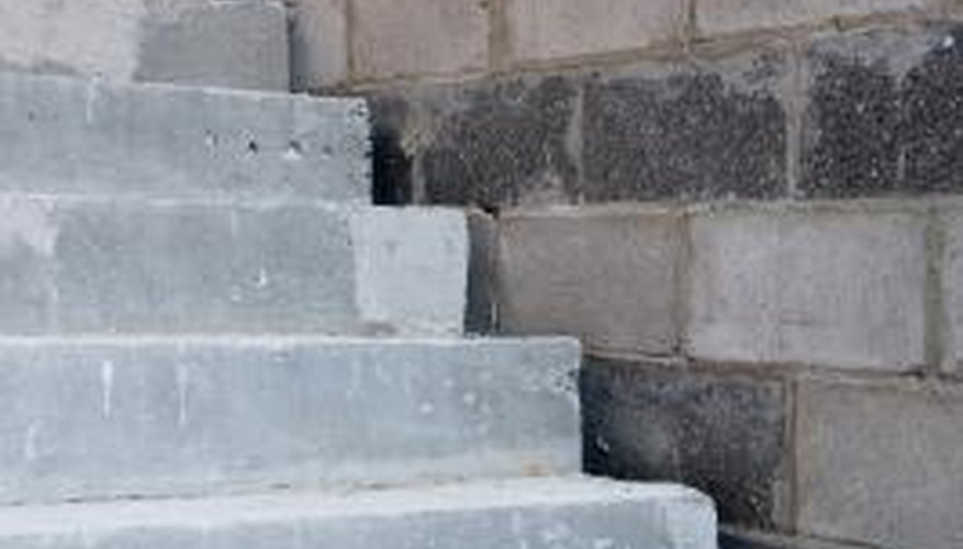 When cement isn't properly mixed or proportioned in concrete, it can easily crumble.