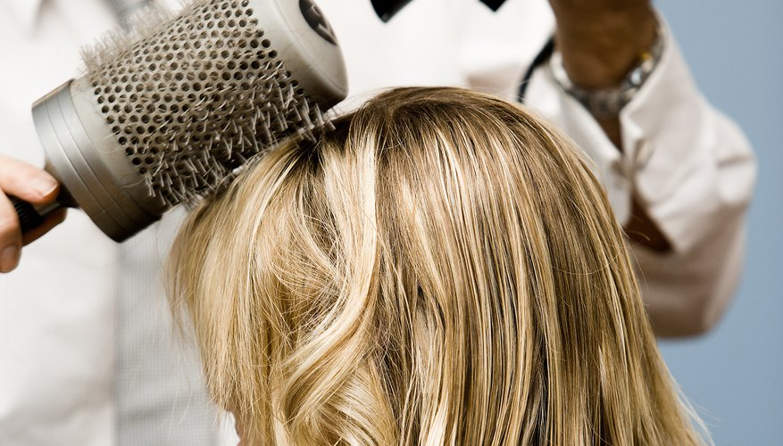 Give lift to freshly washed hair without having to wait until the second day.