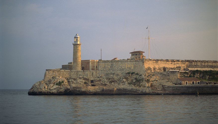 Fortified castles built by Spanish colonials still stand today.