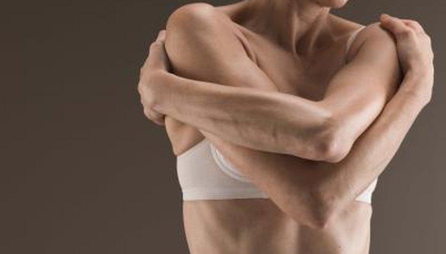 Short bra straps can cause discomfort.