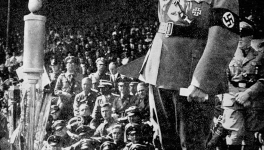 Adolf Hitler was one of the world's most infamous proponents of fascism.
