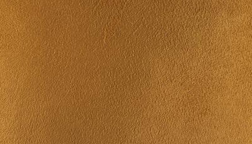 Suede is a smooth-textured, supple leather.