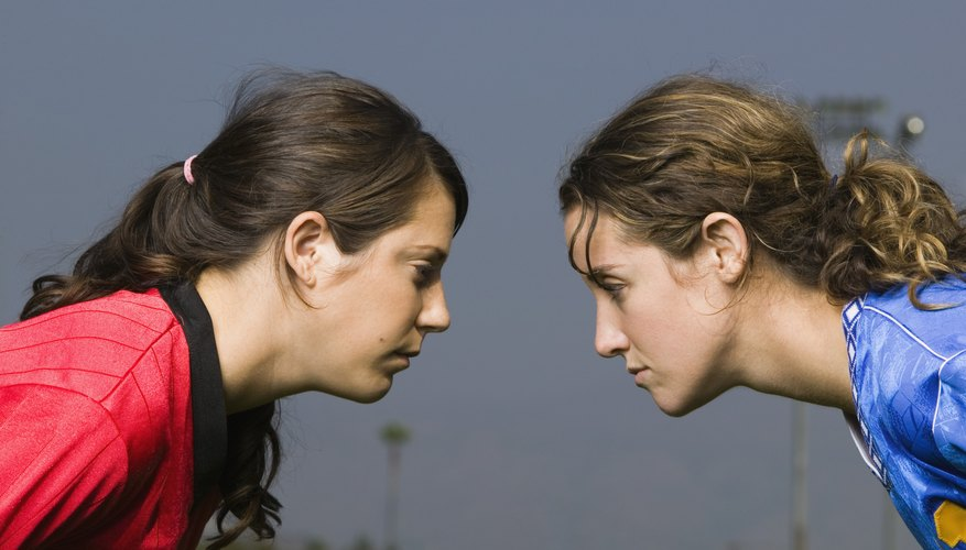 In a competitive friendship, you're likely to feel as if you do not match up to your friend.