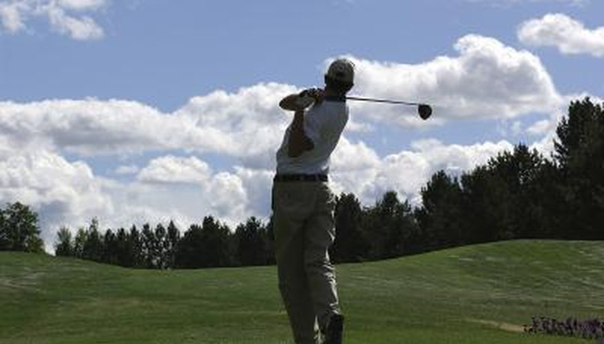 Keep the club on the correct swing plane to hit consistent golf shots.