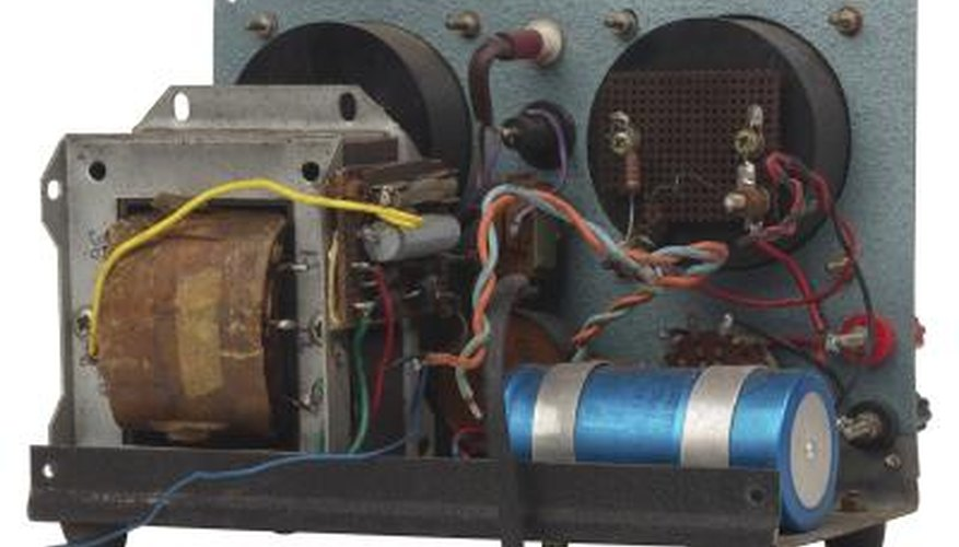 A rectifier changes AC to DC.