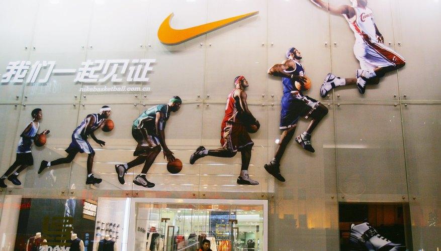 Nike shop in Beijing, China