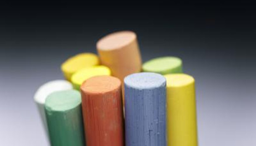 Removing pastel chalk from carpeting reduces the likelihood of stains.